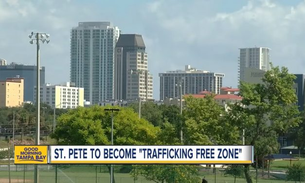 St. Pete to become 'trafficking free zone'
