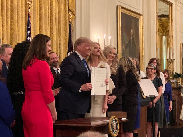 President Trump Announces Office To Combat Domestic Sex Trafficking